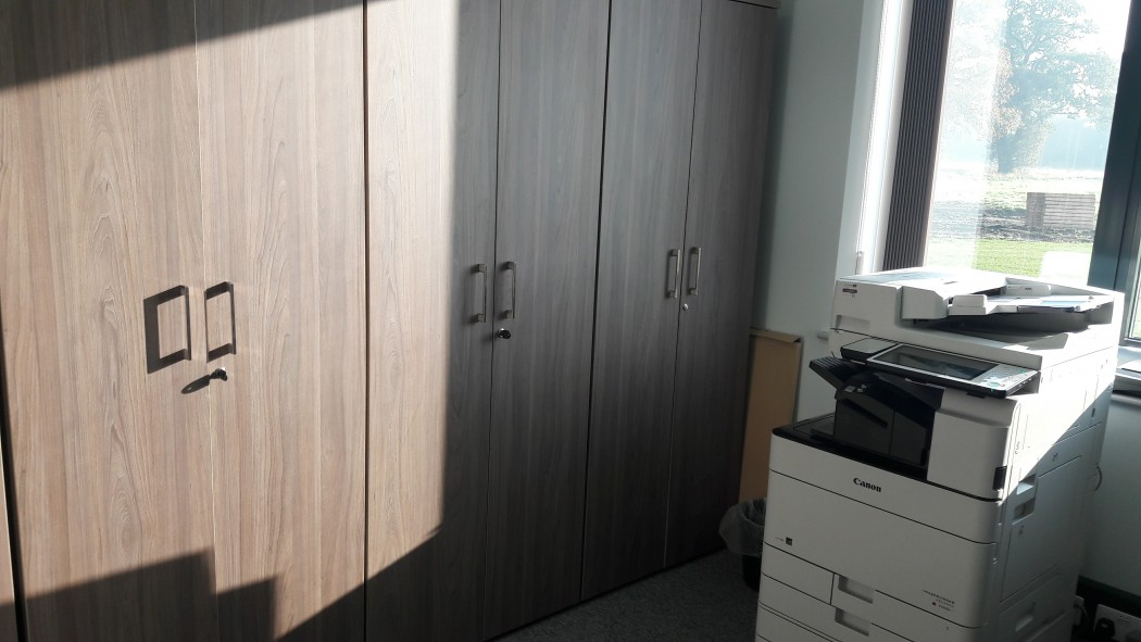 office storage, cupboards