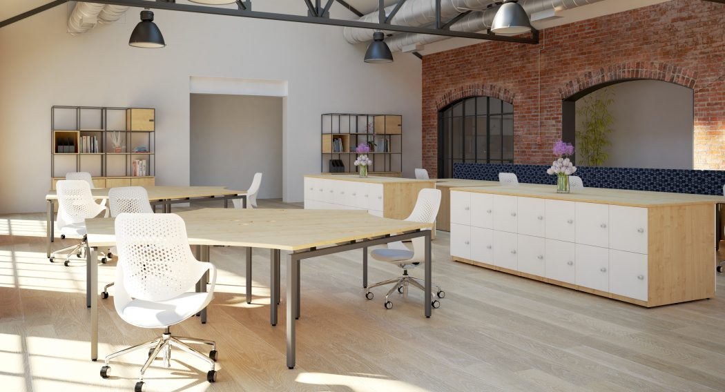 budget bench, cheap bench desking, core units, cure clusters, lockers