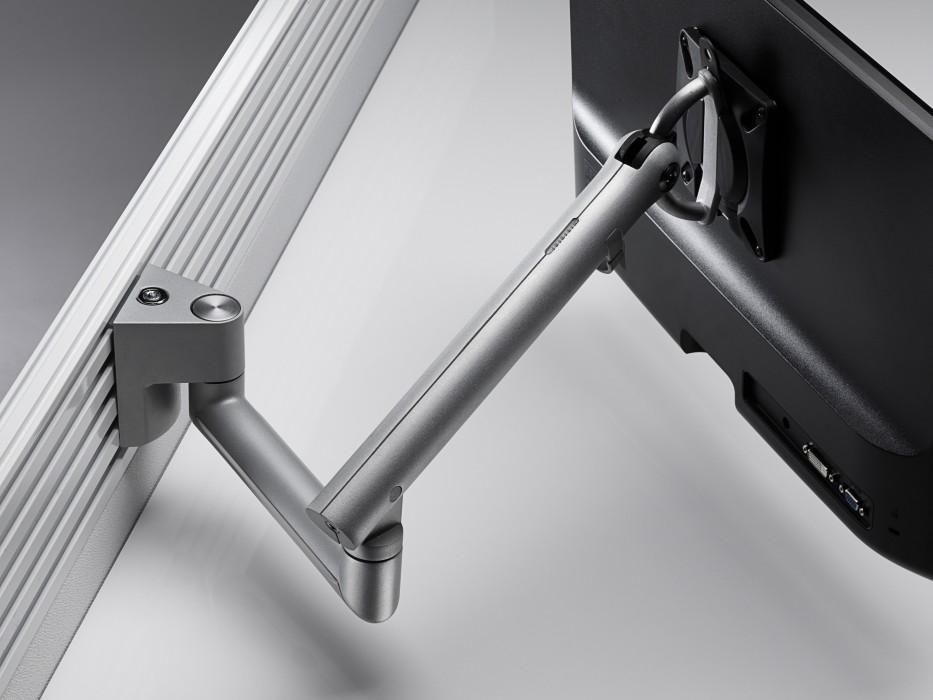 single monitor arm, adjustable monitor arm