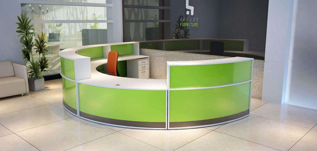 reception desk, reception top unit