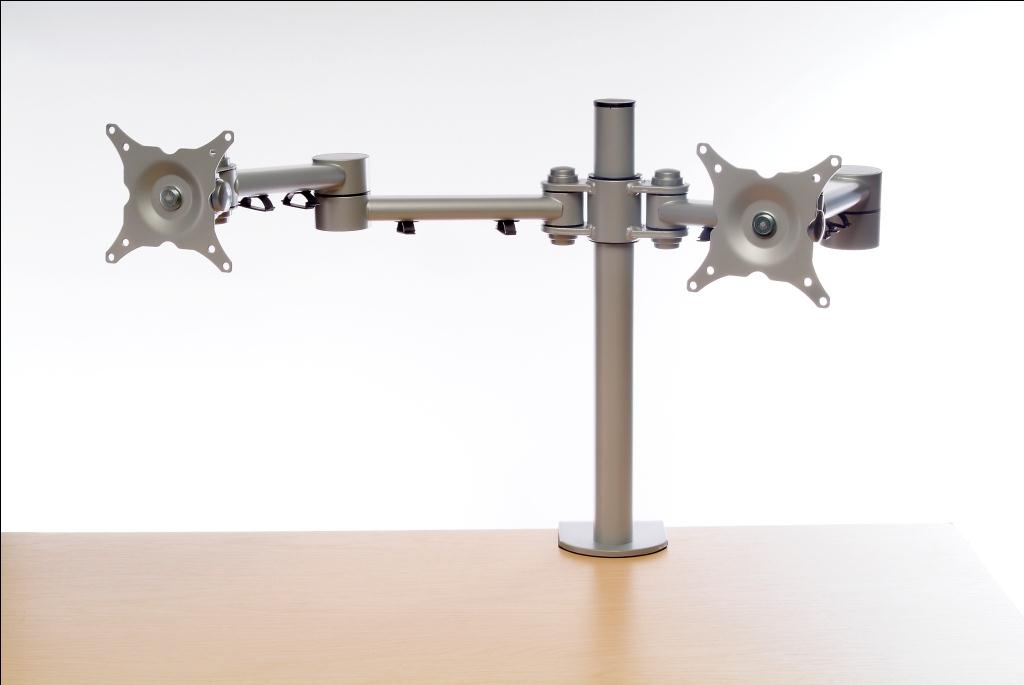 office accessories, dual monitor arm