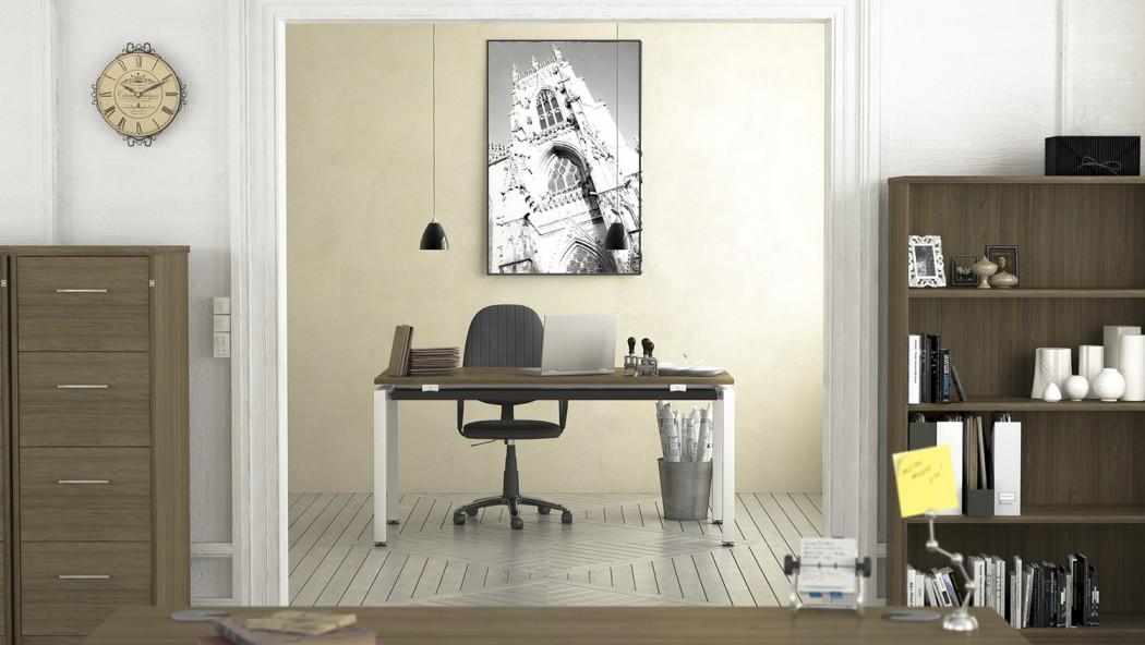 bench desking, modular desking,modesty panel, single desk