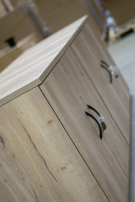 credenza, office storage, halifax oak