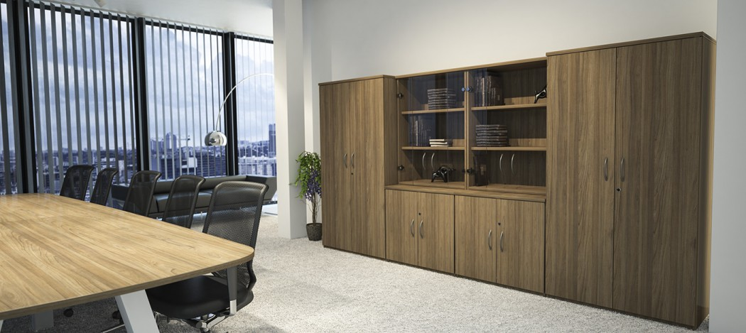 office storage, cupboards, glass door cupboard
