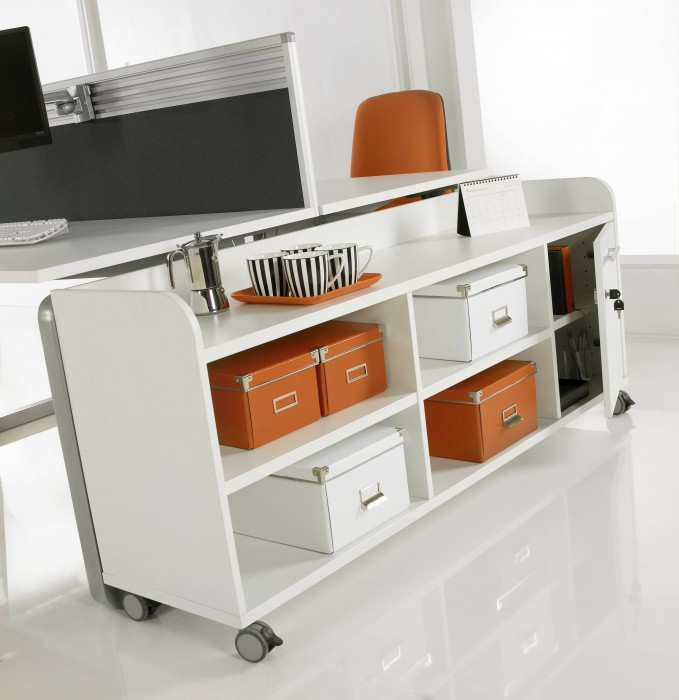 under desk storage, mobile storage, bookcase, office storage