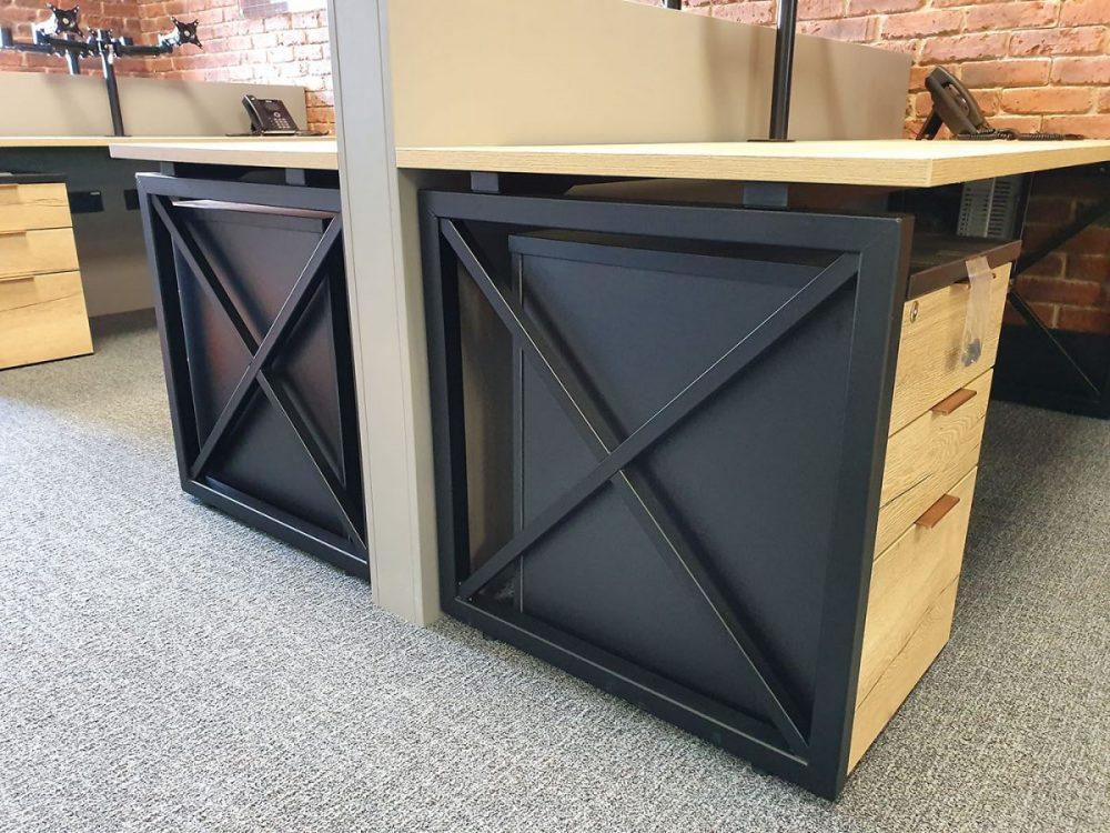 X-leg, budget leg, contemporary leg, modern office furniture, bespoke,