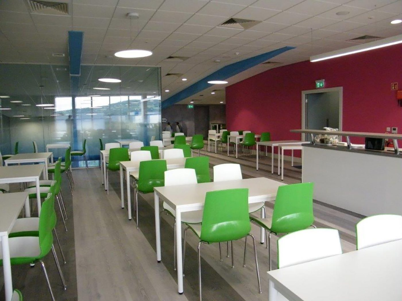 fully welded tables, canteen tables, classroom tables, rectangular tables, MFC, UK manufactured, office furniture