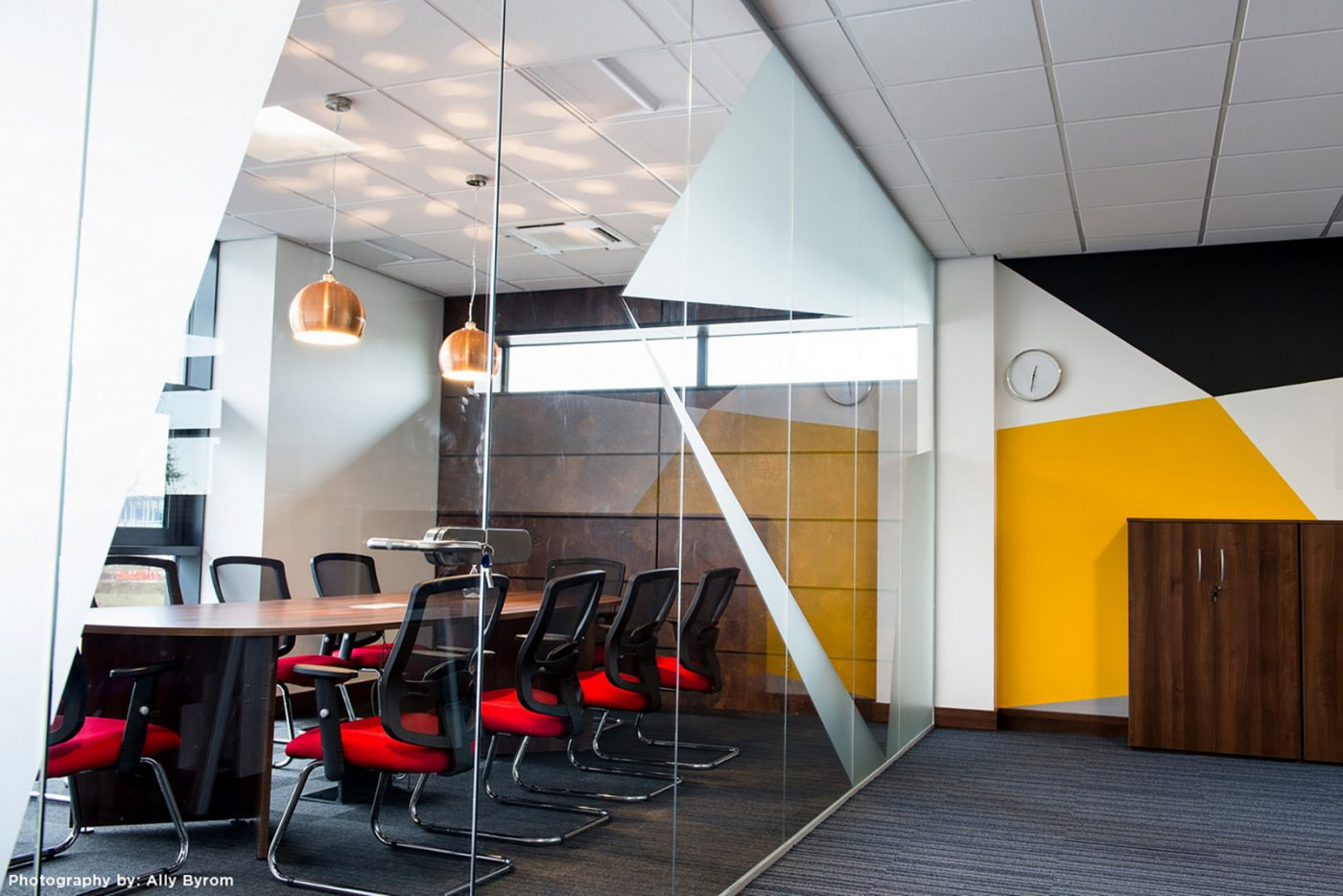 boardroom table, arrowhead, panel end, meeting table, MFC office furniture,