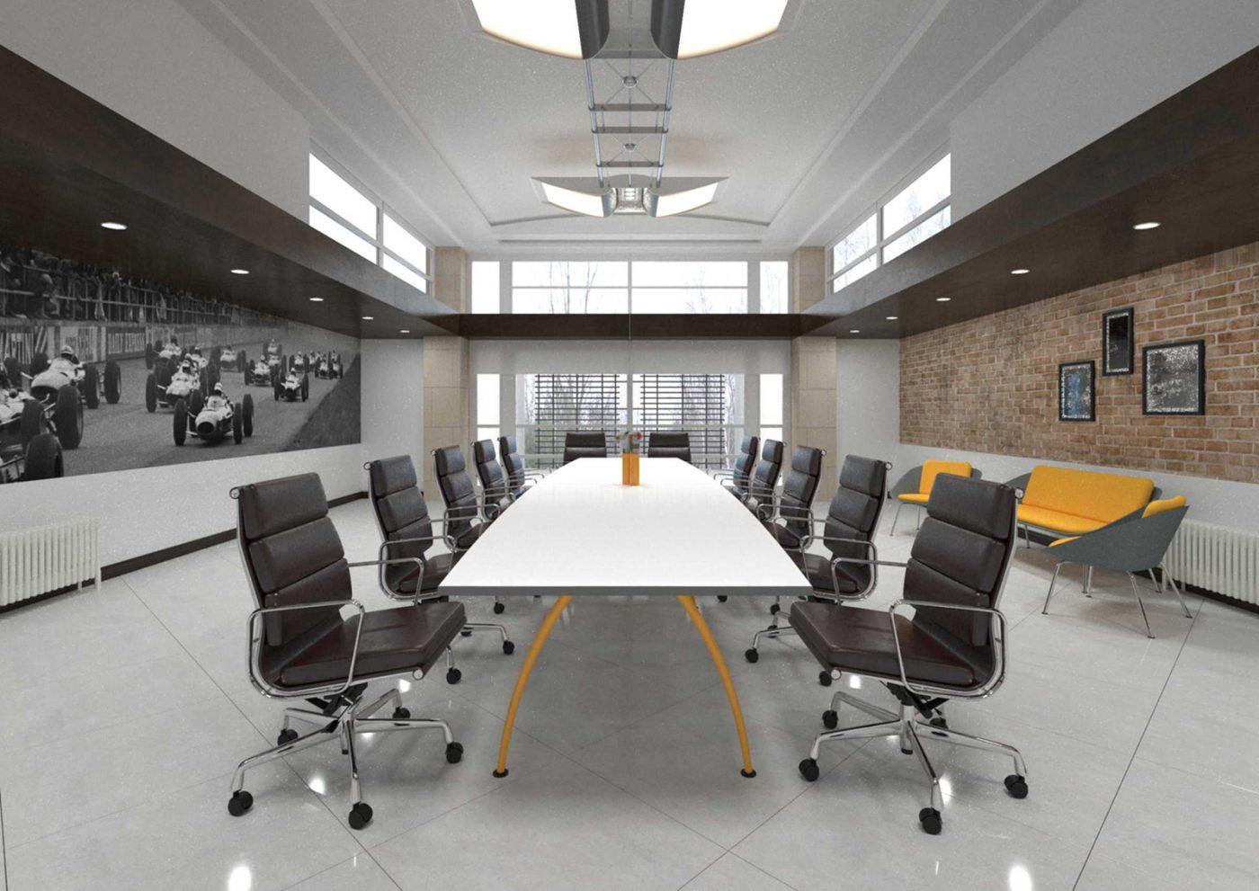 bologna, metal leg, boardroom table, meeting table, executive desk