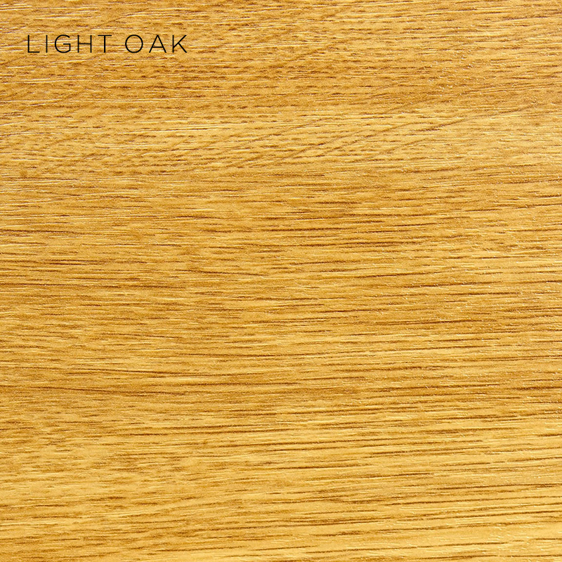light oak MFC, MFC finishes, wood finishes, wood colours, desktop finishes