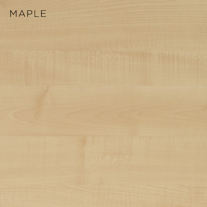 maple MFC, MFC finishes, wood finishes, wood colours, desktop finishes
