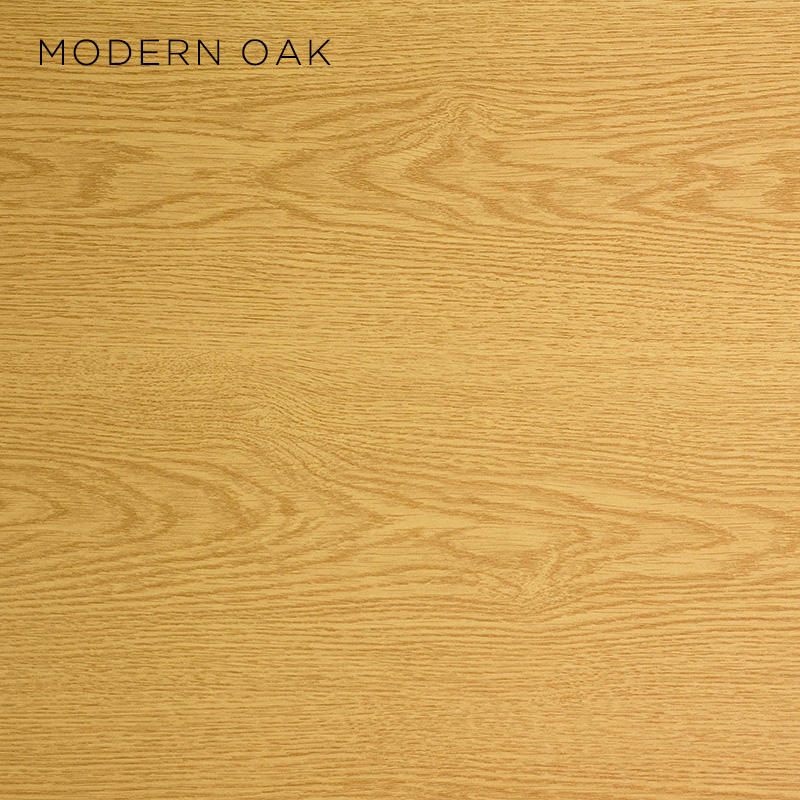 modern oak MFC, MFC finishes, wood finishes, wood colours, desktop finishes