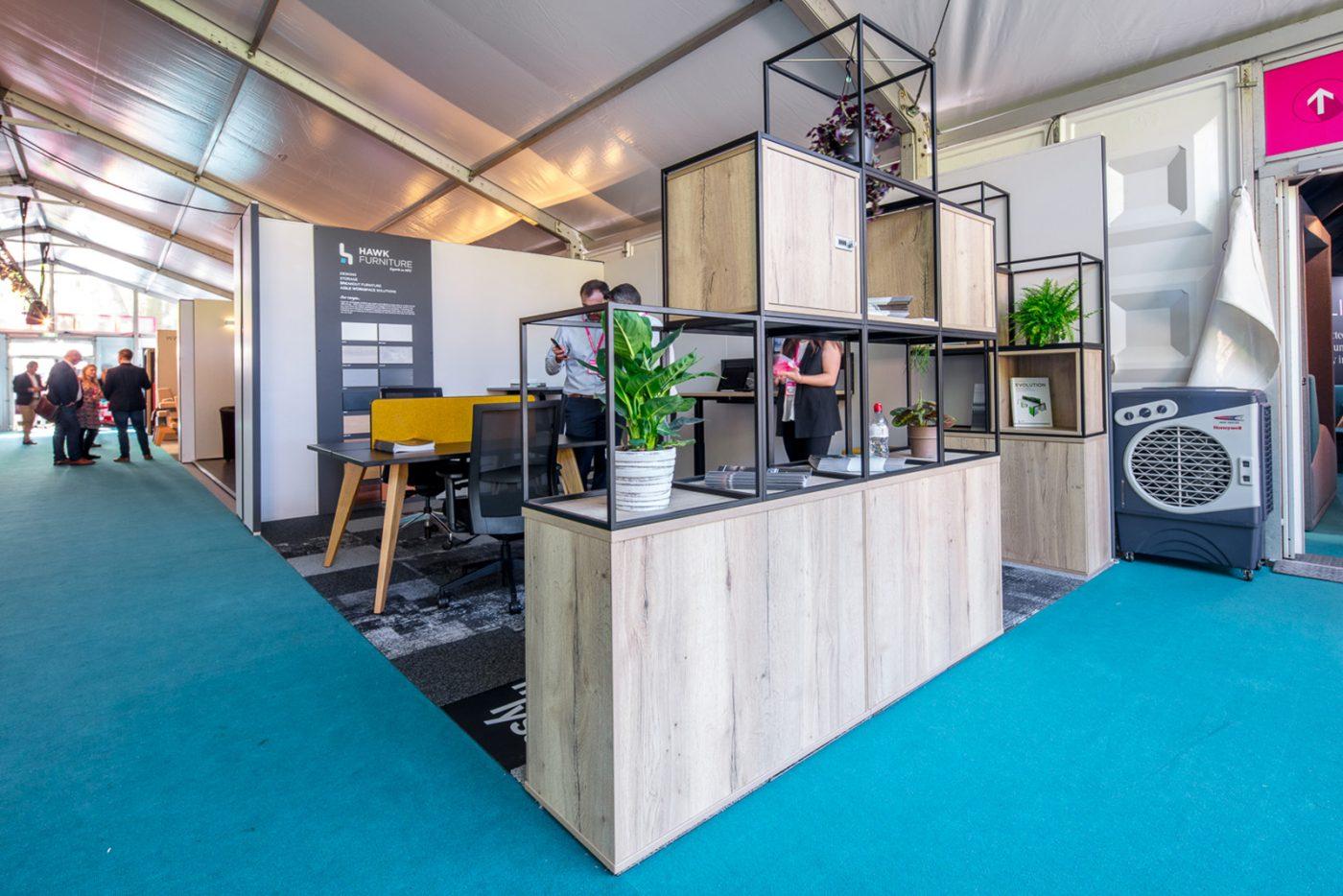 office storage, contemporary office storage, modular storage, cupbaords, shelves, halifax oak
