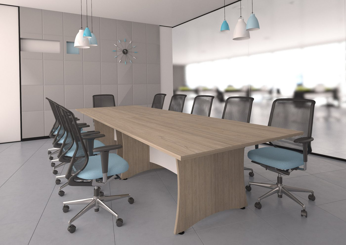 roma lorenzo, panel end, boardroom, meeting table, modesty panel, office furniture