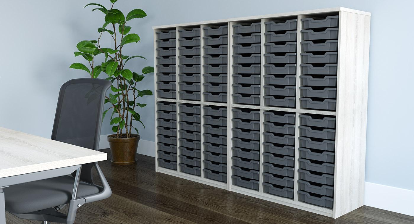tray units, classroom trays, school trays