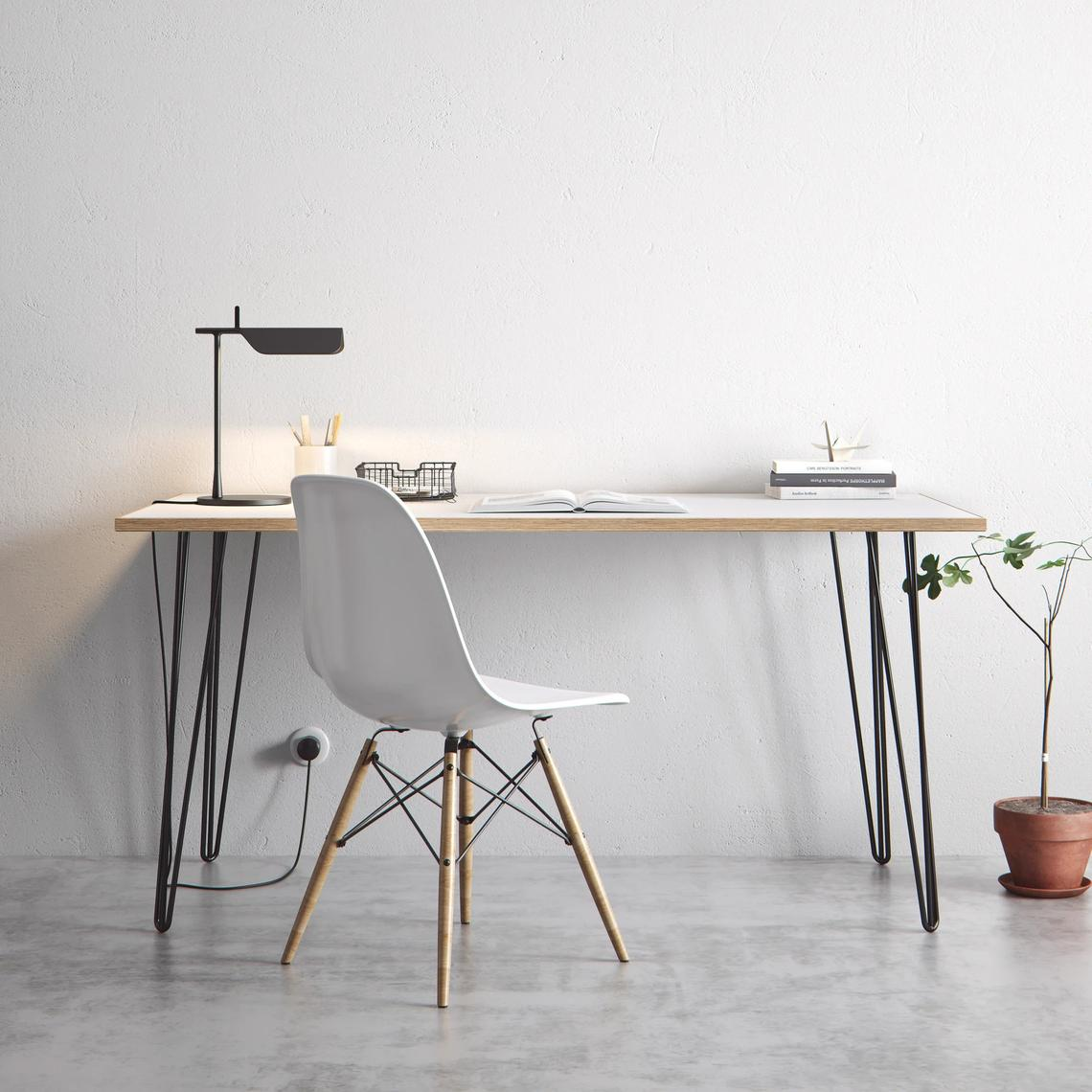 hairpin desk table modern home office