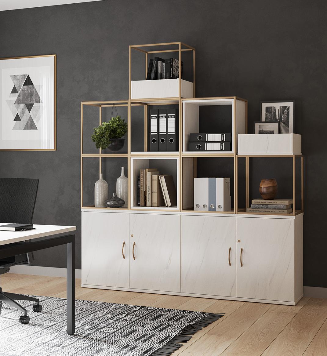 Marble Storage Office Furniture